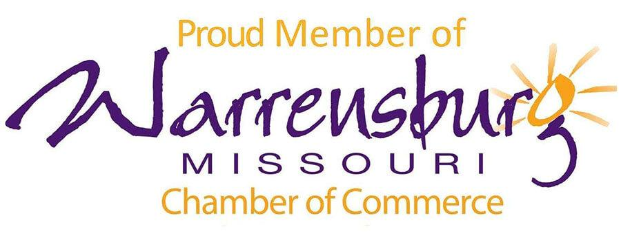 Proud Member Warrensburg Chamber of Commerce