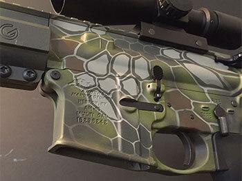 AR 15 Duracoat