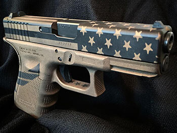 Custom Air Force Glock Cerakote