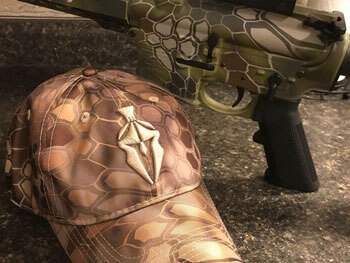 Kryptek AR15 Duracoat
